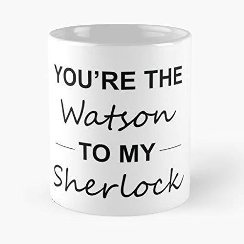Sherlock Holmes Dr Watson Detective - Best 11 oz Kaffee-Becher - Tasse Kaffee Motive