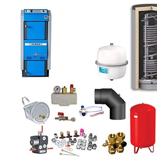 Atmos GSX70 Scheitholzvergaser/Holzvergaser 70 kW Komplettset 4