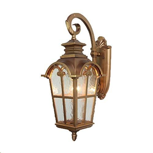 Maonb Lantaarn, voor wandmontage, vintage, klassiek, waterdicht, van aluminium, tuin, decoratie, veiligheidslicht, antiek, balkon, wanddeur, veiligheid, wandlamp