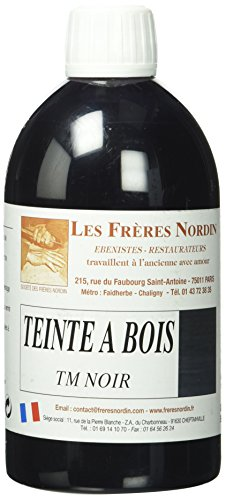 Les Frères Nordin 410512 Teinte à Bois Noir 500ml