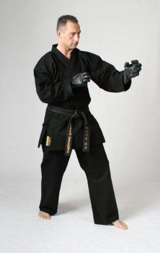 DEPICE Europa - Kimono de Defensa Personal Negro Negro Talla:180 cm