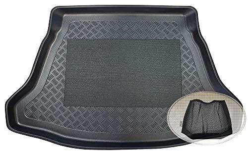 Preisvergleich Produktbild ZentimeX Z3078280 Antirutsch Kofferraumwanne fahrzeugspezifisch + Klett-Organizer (Laderaumwanne,  Kofferraummatte)