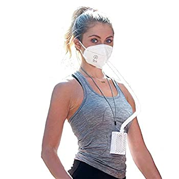 BROAD AirPro Mask Rechargeable Electrical Air Purifying Respirator with HEPA Filter…