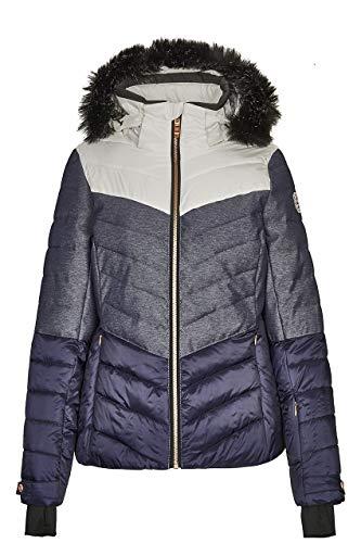 Killtec Brinley Ski-jas voor dames, sportief met skipaszak, warme jas voor de winter