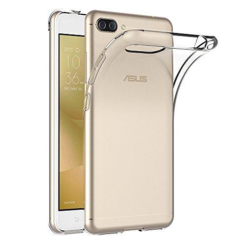 AICEK ASUS Zenfone 4 Max ZC520KL Hülle, Transparent Silikon Schutzhülle für ASUS Zenfone 4 Max ZC520KL Case Clear Durchsichtige TPU Bumper Zenfone 4 Max ZC520KL Handyhülle (5,2 Zoll)