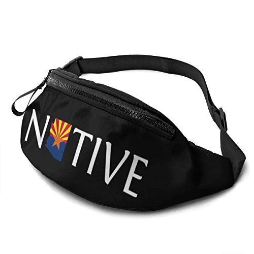 AOOEDM Fanny Pack for Men Women,Arizona - Native Casual Outdoor Waist Bag for Workout Travel Hiking