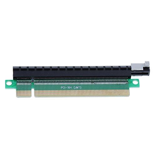 Big Shoppe Store PCIE 16X Riser Card PCI-Express X16 Video-Card Protector Male to Female-Blue