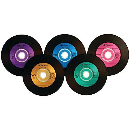 Verbatim Digital Vinyl 52x 700MB 80-Minute CD-R Media 50-Piece Spindle