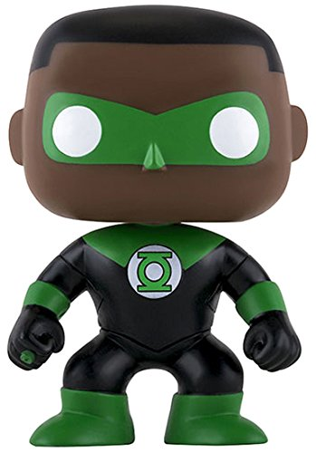 - Figurine DC Heroes - Green Lantern John Stewart Exclu Pop- Matière vinyl- Vendu sous window box-