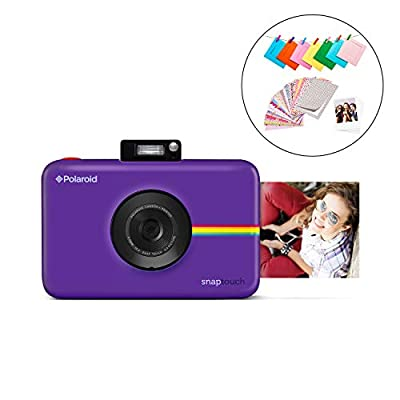Zink Polaroid SNAP Touch 2.0 – 13MP Portable Instant Print Digital Photo Camera w/ Built-In Touchscreen Display, Purple