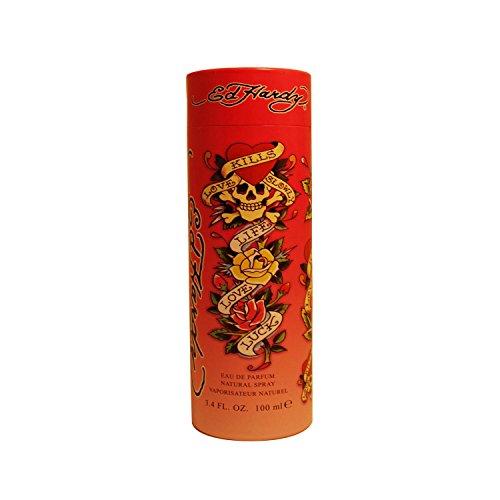 Ed Hardy Eau De Parfum Spray, Perfume for Women 3.4oz
