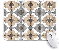 VAMIX マウスパッド 個性的 おしゃれ 柔軟 かわいい ゴム製裏面 ゲーミングマウスパッド PC ノートパソコン オフィス用 デスクマット 滑り止め 耐久性が良い おもしろいパターン (ボヘミアンレトロな自由奔放に生きるストライプアート)