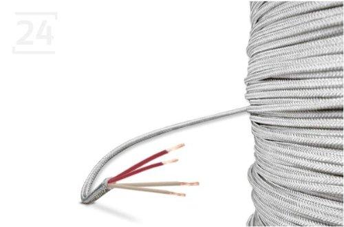 Glasseide-Kabel/Glasseide-Leitung, 4-Leiter, 10 Meter