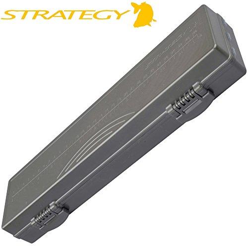 Strategy Rig Box 34,4x9,5x4,7cm - Tacklebox für Karpfenmontagen, Angelbox für Karpfen Rigs, Vorfachbox zum Karpfenangeln