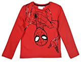 Spiderman Niños Camiseta de Manga Larga