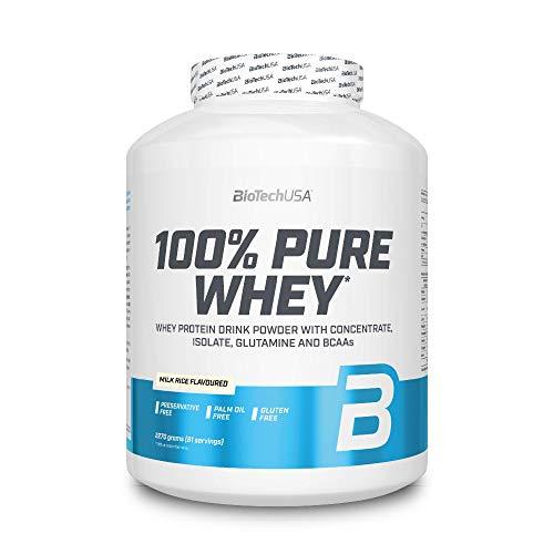 BioTech 100% Pure Whey Proteínas de Suero de Leche, Sabor Arroz Con Leche - 2270 gr