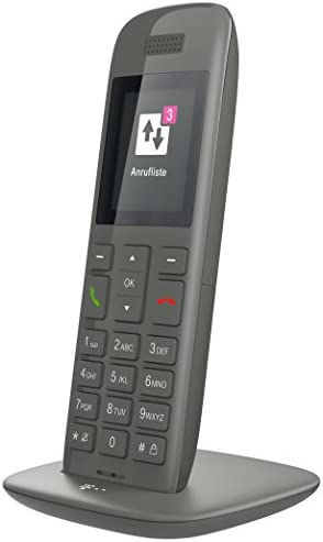 Telekom Speedphone 11 Grafit Mit Dect Basis Wahlweise Nutzbar Am Ip Anschluss Oder Am Analogen A