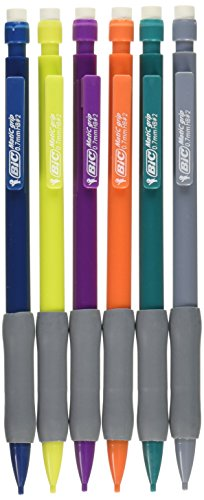 BIC #2 Mechanical Pencils, 0.7mm, 6ct - Multicolor