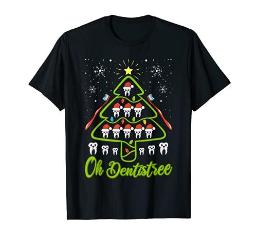 Oh Dentistree - Disfraz de Navidad divertido para regalo de odontologa Camiseta