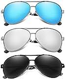 Aviator Sunglasses for Men Women Polarized...