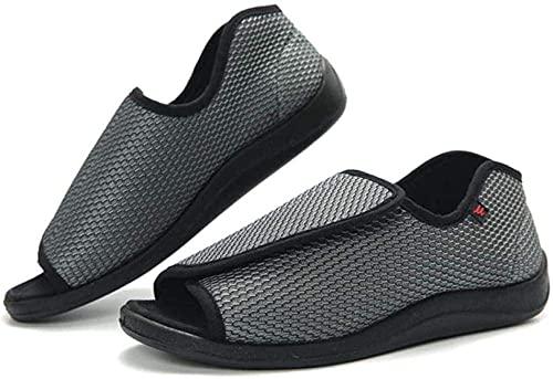 DXDUI Zapatos ortopédicos Ajustables, Zapatos de Bandeja Ajustables, pies Gruesos, hinchados, Anchos Pulgares y valgus