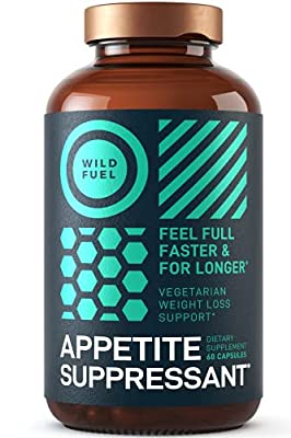 Appetite Suppressant for Weight Loss - Wild Fuel Triple-Action Diet Control - Control Hunger, Feel Full Faster, and Satisfied for Longer