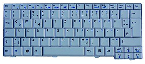 NExpert deutsche QWERTZ Tastatur für Acer Aspire One ZG8 KAV60 Series DE Weiß NEU