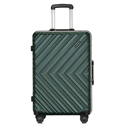 Caishuirong Luggage Suitcase Multi-function Suitcase Aluminum Frame Trolley Case Men And Women Boarding Case 20/24 INCH For travel and business trips (Color : C6, Size : 24inch)