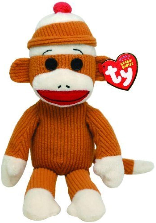 Ty Beanie Babies Socks Monkey (Tan) by Ty Beanie Babies
