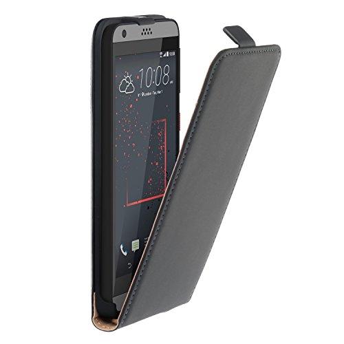 yayago Flip Tasche für HTC Desire 530 / Desire 630 Schutzhülle Flip Hülle Hülle Klapphülle Schwarz