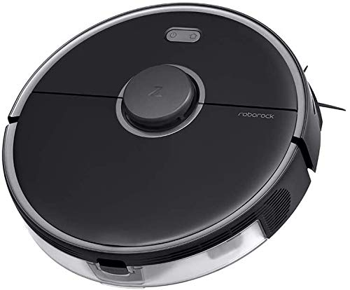 Roborock S5 Max Robot Vacuum Cleaner Function Broom Robot Vacuum Cleaner 2000Pa with 290ml Water Tank, Selective Chamber Cleaning, Powerful Suction