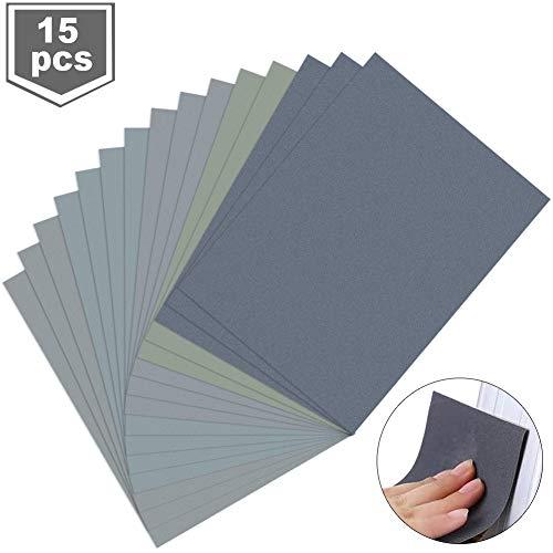 schleifpapier set,schleifpapier trocken nass,nassschleifpapier,wasserschleifpapier,körnung schleifpapier,schleifpapier sortiment,sandpapier,schleifpapier für metall stein lack