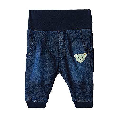 Steiff Baby-Jungen Jeanshose Hose, Blau (RIVIERA 6015), 68 (Herstellergröße:68)