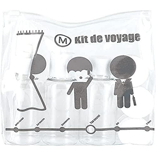 JET LAG - SC15130 - Kit de Voyage Flacon 3 Pièces /...