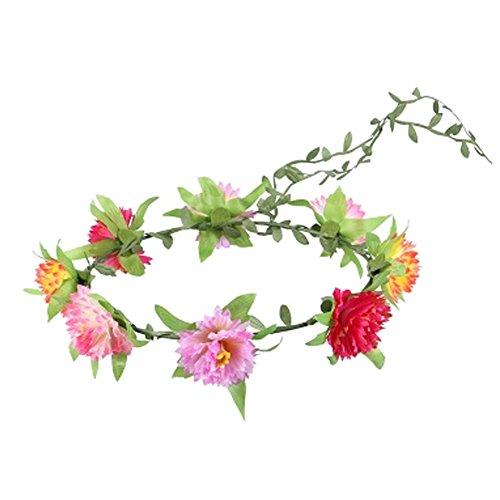 M?dchenhandwerk Meer Blumen-Kranz-Hochzeit Stirnband Kopfbedeckung , Bunt