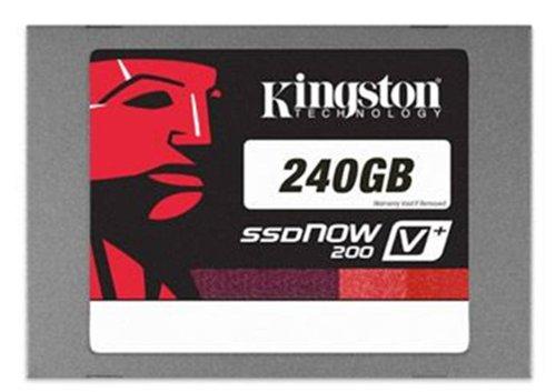 Kingston SSDNow V+200 SSD, 2.5 Pollici, SATA 3, 6Gb/s, 240 GB