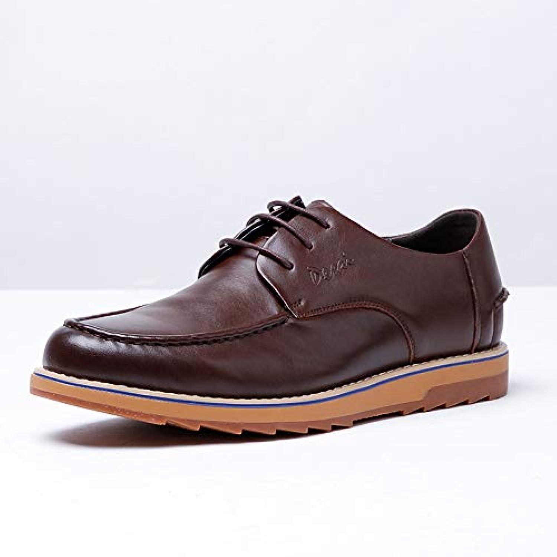 Sko män män män läderskor Brand Manliga skor Casual Lace läder skor s High -end skor s (Färg  bspringaaa, Storlek  6 -MUS)  bästa kvalitet bästa pris