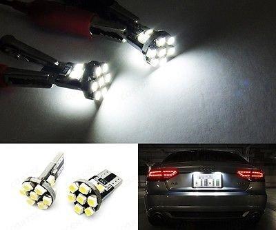 LEDIN T10 168 194 2825 Xenon White 13 SMD 360 degree LED Bulb Front Side Marker Light