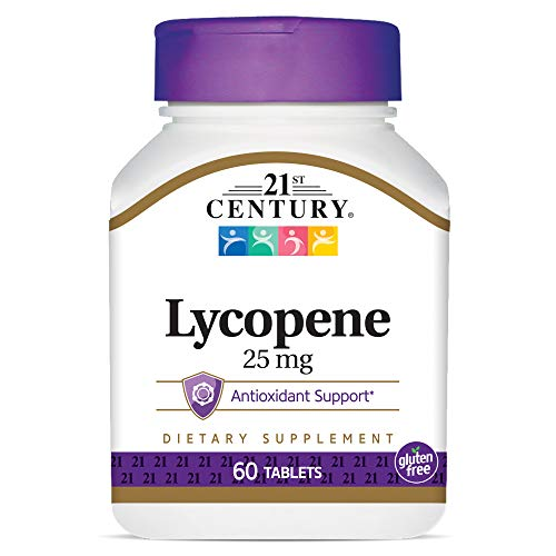 21st Century Health Care, Lycopin, Maximalkraft, 25 mg, 60 Tabletten