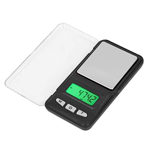 Básculas de comida, balanza electrónica digital Delaman LCD Pesaje de frutas Básculas de comida pequeñas 200g/0.01g