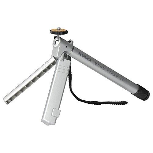 HAKUBA monopod stand van zaken M10 10-traps camera platform inklapbare standaard met zilver DH-MSM10SV