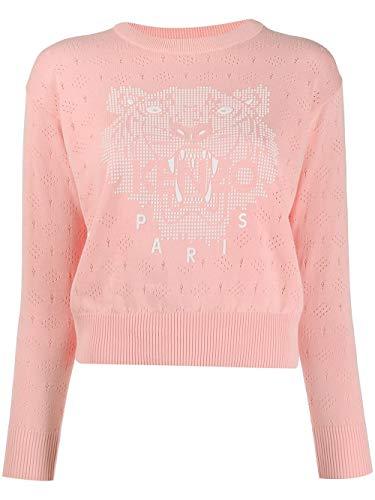 Luxury Fashion | Kenzo Dames FA52PU5003XB32 Roze Katoen Truien | Lente-zomer 20