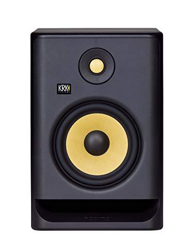 KRK RP7 Rokit G4 Professional Bi-Amp 7' Powered Studio Monitor, Black (RP7G4)