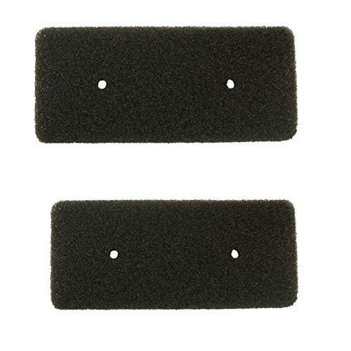 2 filtros de esponja de espuma, filtro evaporador de secador de condensador compatible con secadora de calor Samsung DC62-00376A DV-F500A DC6200376A DV-F500E DV80H8100HWEU
