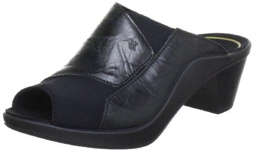Romika Mokassetta 244, Damen Pantoletten, Schwarz (schwarz), 42 EU