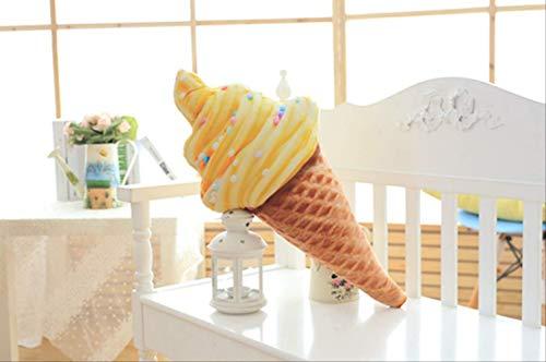 qwerwj Plüsch Spielzeug EIS Kegeln Große Puppe Kissen Kinder Paar Geschenke Daunenbaumwolle 30cm Orangengeschmack