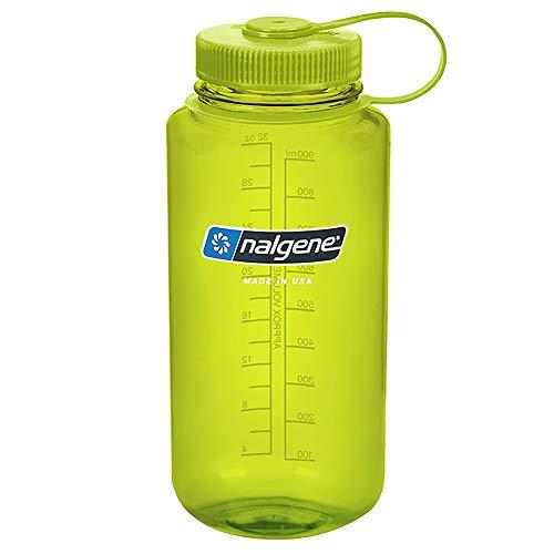 Nalgene Trinkflasche mit großer Öffnung, Camping und Wandern, 1l