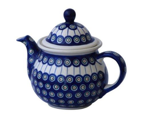 Original Bunzlauer Keramik Kaffeekanne 1,7L im Dekor 8
