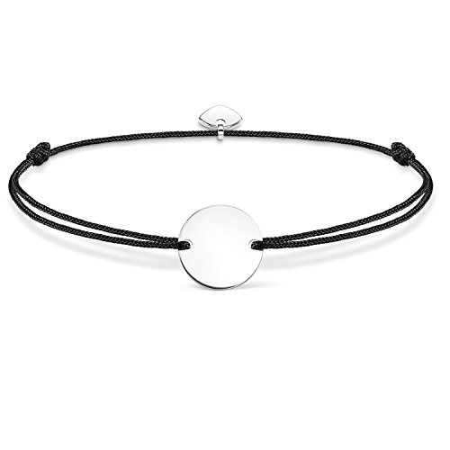 Thomas Sabo Women-Bracelet Little Secrets 925 Sterling silver black LS018-173-11-L20v