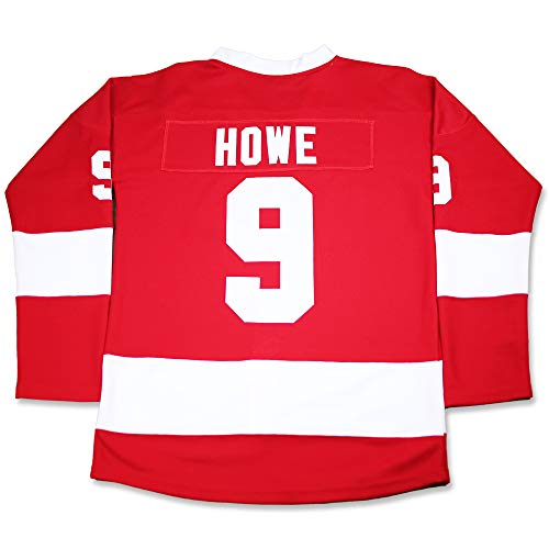 Cameron Frye Hockey Ferris Bueller Jersey Stitch Sewn XS-2XL Halloween Costume (46) Red